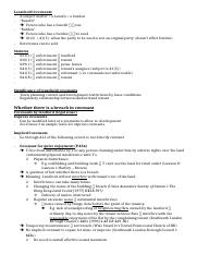 Land Law II - Notes - Leasehold Covenants copy.docx
