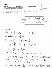 Solutions Midterm #2