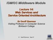 Lecture 14 on servers