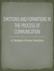 Paradigms in interpersonal communication .pptx