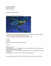 Test Bank for Visualizing Environmental Science 3E - Berg -.docx
