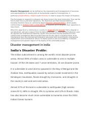 Disaster Management.docx