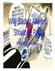 Why Student Athletes Should Be Paid.pptx
