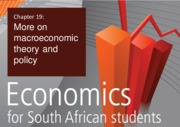 More on Macro econ theory and policy
