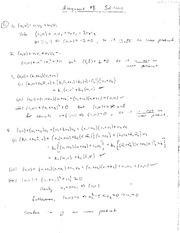 Matrix Algebra Homework 8 Solutions