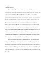 American Congress Term Paper