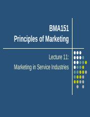 Lecture 11 Services