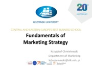 9_Fundamentals of Marketing Strategy