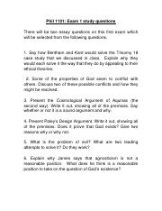 1101 Exam 1 study questions.docx