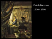 Dutch Baroque Still Life Landscape