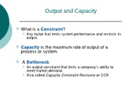 constraint management notes - chapter 7