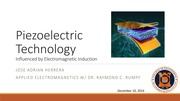 Piezoelectric Technology