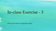 In-class Exercise - 3[1]