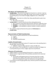 GENB Ch10 Notes