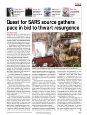 Quest for SARS