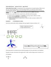 Valence Bond Theory     Section 10 (3)