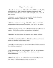 Chapter 4 Questions Aegean