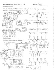 Review solutions for sine and cosine quiz