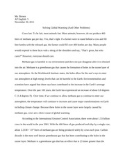Sarcasm Global Warming Essay