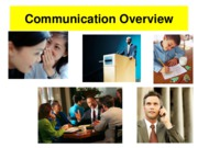 Communicationoverview