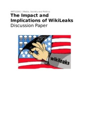 Wikileaks Discussion Paper (HD)