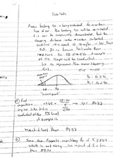 Prob Stats and Fluids -  Study Material