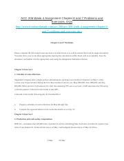 ACC 206 Week 4 Assignment Chapter 6 and 7 Problems and Exercises, DQs.docx