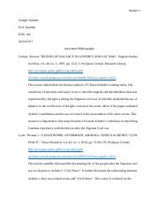 Annotated Bibliography Student Sample.docx