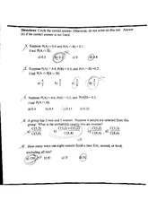 probability exam material 4