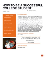 Newsletter How to College ENG-111