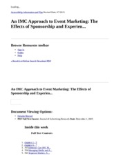 An IMC Approach to Event Marketing_ The Effects of Sponsorship and Experien..._ EBSCOhost.html