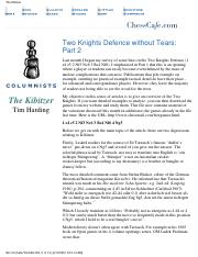 eBook - PDF - Tim Harding - Two Knights Defence Part II - Chess.pdf