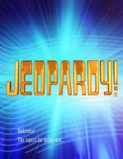exam 3 jeopardy