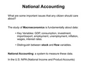 Lecture 11 National Accounts(1)