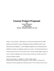 mis 535 course project proposal srilakshmi Read story mis 535 (managerial appl of info tech keller) entire course - latest version by shinestar99 with 398 reads mis week 2 course project proposal.