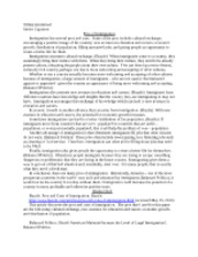 Anthropology 490 - Week 4 - Tiffani Kittilstved Senior Capstone Cons