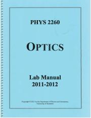 PHYS2260 Lab Manual 2011-12 pgs1-23