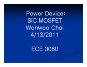 3_Power Device 3080 Wonwoo Choi