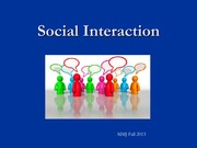 Social+Interaction