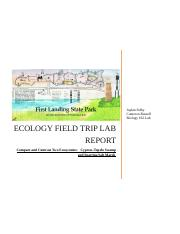 field ecology lab report