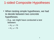 07.Hypothesis Tests 1 Sided