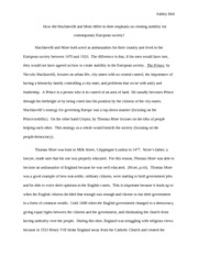The Prince Final Paper 2-25-12