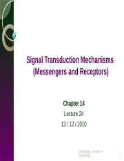 Lecture 24- Signal Transduction Mechanisms.pptx