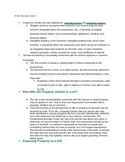 Notes Business Law 1