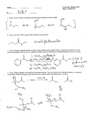 Chem 308_Summer 2010_Quiz 4 Key