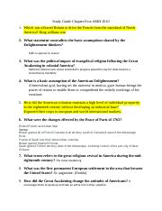 Study Guide Chapter 4 History.docx