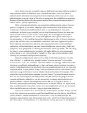 poli sci essay 2 Poli sci discussion read the articles conceptualising state collapse: an institutionalist approach, by lambach and johais (2015) and globalization, terrorism and the state by demir and varlik (2015), which is required reading for this week.
