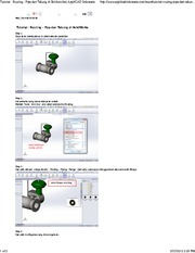 Tutorial - Routing - Pipa dan Tabung di Solidworks - AppliCAD Indonesia.
