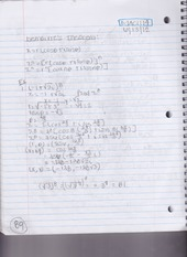 Trigonometry Notes (Chapter 8.3)