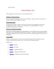 Case Project 4-2